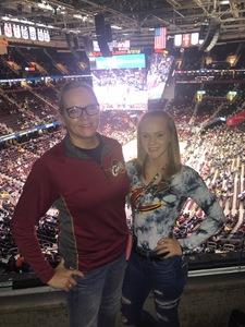 Michele attended Cleveland Cavaliers vs. Denver Nuggets - NBA on Nov 1st 2018 via VetTix