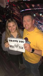 John attended Cleveland Cavaliers vs. Denver Nuggets - NBA on Nov 1st 2018 via VetTix