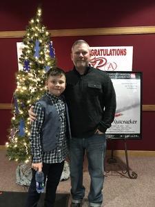Shawn attended Gregory Hancock Dance Theatre: the Nutcracker - Saturday Evening on Dec 1st 2018 via VetTix