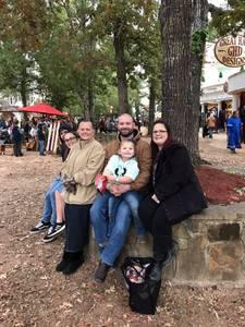 James attended Texas Renaissance Festival on Nov 11th 2018 via VetTix