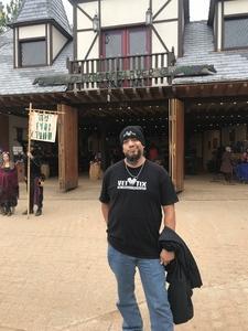 Jose attended Texas Renaissance Festival on Nov 11th 2018 via VetTix