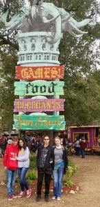 Javier attended Texas Renaissance Festival on Nov 11th 2018 via VetTix