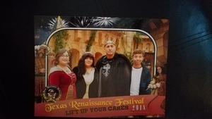 Antonio attended Texas Renaissance Festival on Nov 11th 2018 via VetTix