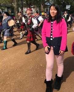 jingzi attended Texas Renaissance Festival on Nov 11th 2018 via VetTix