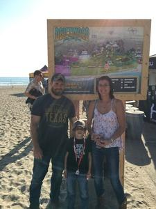 Chad and family attended Driftwood Festival - Weekend Passes on Nov 10th 2018 via VetTix