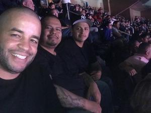 Manuel attended UFC 230 - Mixed Martial Arts on Nov 3rd 2018 via VetTix