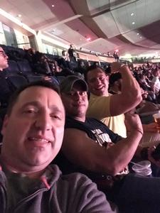 Aaron attended UFC 230 - Mixed Martial Arts on Nov 3rd 2018 via VetTix
