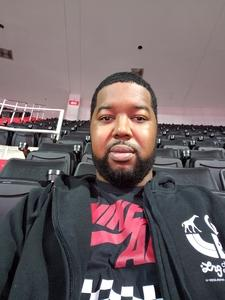 Anthony attended Washington Wizards vs. Orlando Magic - NBA on Nov 12th 2018 via VetTix