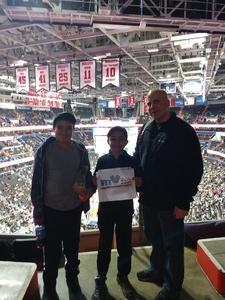 Dawson attended Washington Wizards vs. Orlando Magic - NBA on Nov 12th 2018 via VetTix