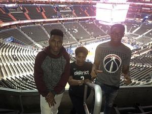 Diane attended Washington Wizards vs. Orlando Magic - NBA on Nov 12th 2018 via VetTix