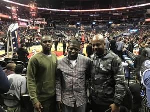 Frank attended Washington Wizards vs. Orlando Magic - NBA on Nov 12th 2018 via VetTix