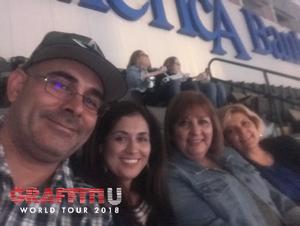 Allen attended Keith Urban: Graffiti U World Tour - Country on Nov 3rd 2018 via VetTix