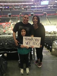 Jose attended Los Angeles Clippers vs Minnesota Timberwolves - NBA - Military Monday on Nov 5th 2018 via VetTix