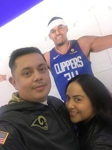 Jason attended Los Angeles Clippers vs Minnesota Timberwolves - NBA - Military Monday on Nov 5th 2018 via VetTix