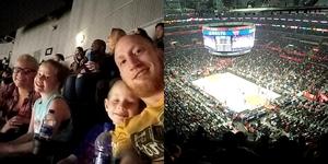 Jeffery attended Los Angeles Clippers vs Minnesota Timberwolves - NBA - Military Monday on Nov 5th 2018 via VetTix