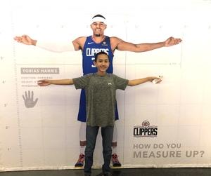 David attended Los Angeles Clippers vs Minnesota Timberwolves - NBA - Military Monday on Nov 5th 2018 via VetTix