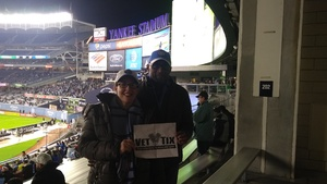 SEAN attended New York City FC vs. Atlanta United FC - Eastern Conference Finals - MLS on Nov 4th 2018 via VetTix