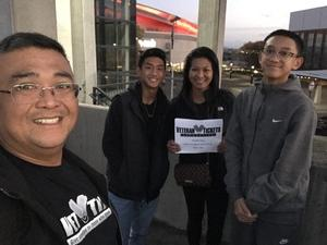 Dave attended Portland Trail Blazers vs. Minnesota Timberwolves - NBA on Nov 4th 2018 via VetTix