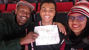 Trent attended Portland Trail Blazers vs. Minnesota Timberwolves - NBA on Nov 4th 2018 via VetTix