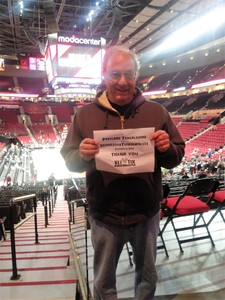 Michael attended Portland Trail Blazers vs. Minnesota Timberwolves - NBA on Nov 4th 2018 via VetTix