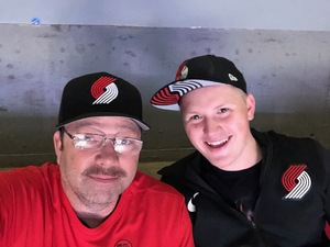 James attended Portland Trail Blazers vs. Minnesota Timberwolves - NBA on Nov 4th 2018 via VetTix