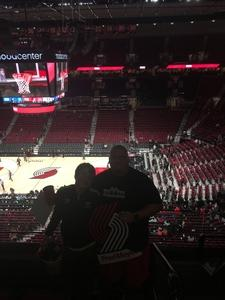 andrew attended Portland Trail Blazers vs. Minnesota Timberwolves - NBA on Nov 4th 2018 via VetTix