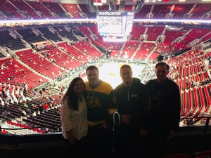 Judea attended Portland Trail Blazers vs. Minnesota Timberwolves - NBA on Nov 4th 2018 via VetTix