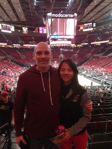 Gregorio attended Portland Trail Blazers vs. Minnesota Timberwolves - NBA on Nov 4th 2018 via VetTix