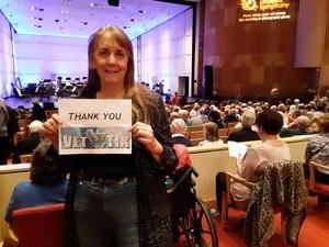 Diane Rejman and a friend attended The Phoenix Symphony - the Second City Guide to the Symphony on Nov 11th 2018 via VetTix