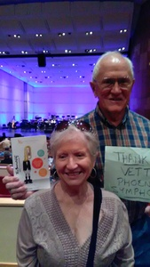 russell attended The Phoenix Symphony - the Second City Guide to the Symphony on Nov 11th 2018 via VetTix