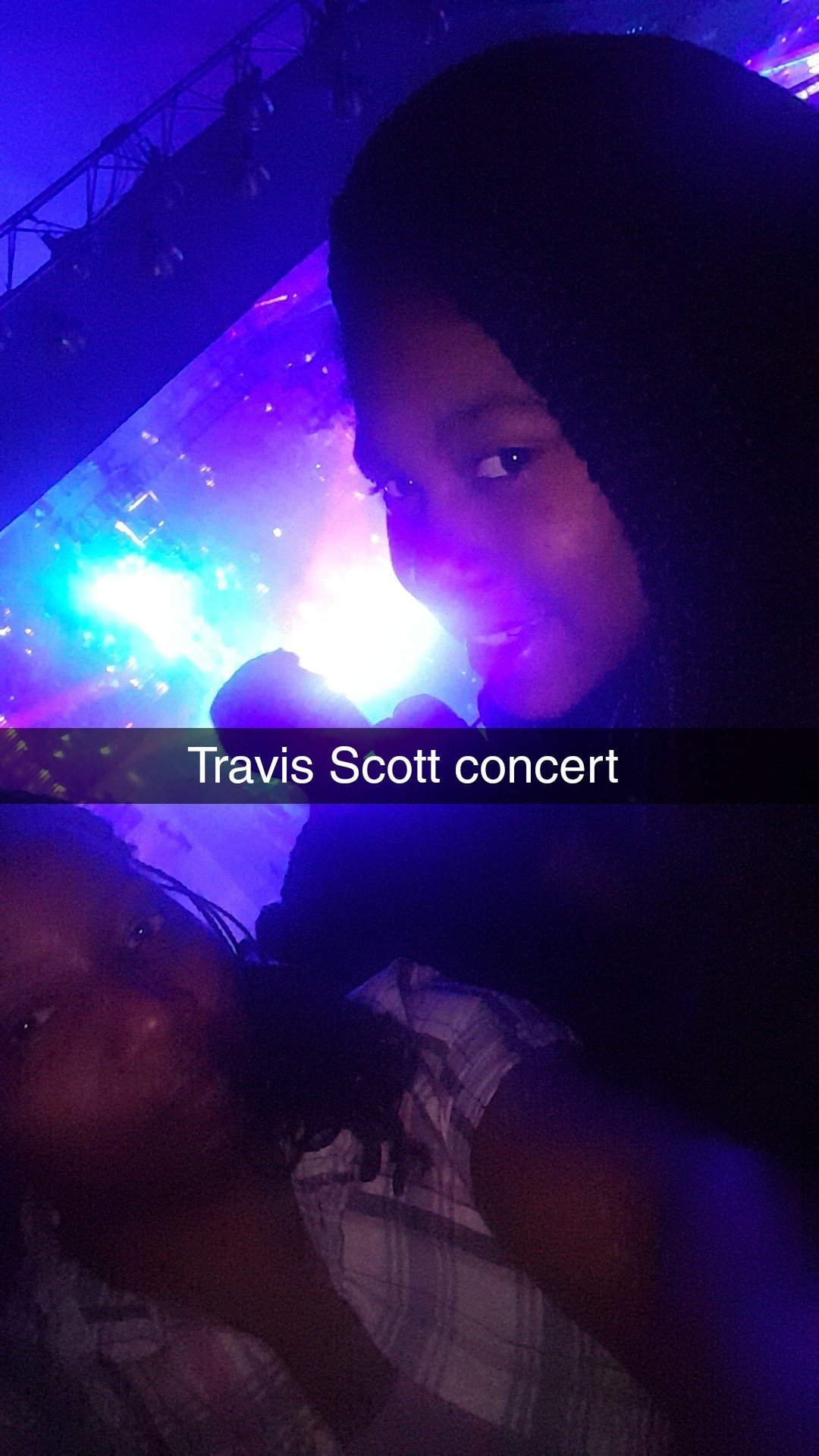 73e393621273 Isolda attended Travis Scott - Astroworld: Wish You Were Here Tour - French  Rap on