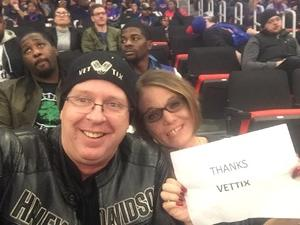 Daniel attended Detroit Pistons vs. Phoenix Suns - NBA on Nov 25th 2018 via VetTix