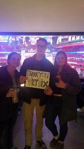 Cory attended Detroit Pistons vs. Phoenix Suns - NBA on Nov 25th 2018 via VetTix