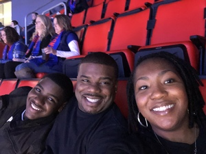 Janel attended Detroit Pistons vs. Phoenix Suns - NBA on Nov 25th 2018 via VetTix