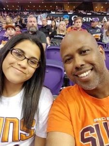 Corey attended Phoenix Suns vs. Memphis Grizzlies - NBA on Nov 4th 2018 via VetTix