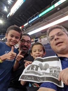 David  V attended Phoenix Suns vs. Memphis Grizzlies - NBA on Nov 4th 2018 via VetTix