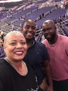 Ebonee attended Phoenix Suns vs. Memphis Grizzlies - NBA on Nov 4th 2018 via VetTix