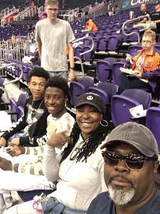 Dwight attended Phoenix Suns vs. Memphis Grizzlies - NBA on Nov 4th 2018 via VetTix