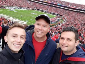 Rod attended University of Georgia vs. Georgia Tech - NCAA Football on Nov 24th 2018 via VetTix