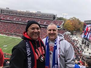 Chris attended University of Georgia vs. Georgia Tech - NCAA Football on Nov 24th 2018 via VetTix