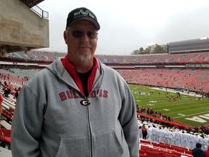 David attended University of Georgia vs. Georgia Tech - NCAA Football on Nov 24th 2018 via VetTix