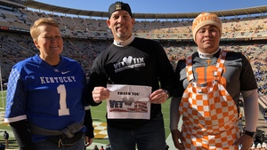 Douglas attended University of Tennessee Vols vs. University of Kentucky Wildcats - NCAA Football on Nov 10th 2018 via VetTix