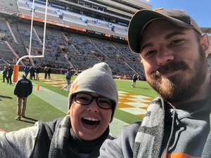 Jonathan attended University of Tennessee Vols vs. University of Kentucky Wildcats - NCAA Football on Nov 10th 2018 via VetTix