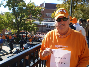 sammy attended University of Tennessee Vols vs. University of Kentucky Wildcats - NCAA Football on Nov 10th 2018 via VetTix