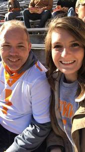 Dallas attended University of Tennessee Vols vs. University of Kentucky Wildcats - NCAA Football on Nov 10th 2018 via VetTix