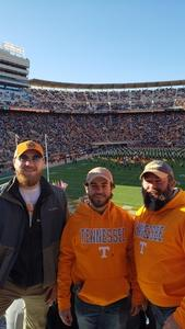 Scott attended University of Tennessee Vols vs. University of Kentucky Wildcats - NCAA Football on Nov 10th 2018 via VetTix