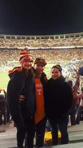 Paul attended University of Tennessee Vols vs. University of Kentucky Wildcats - NCAA Football on Nov 10th 2018 via VetTix