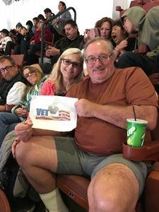Mark attended Anaheim Ducks vs. Columbus Blue Jackets - NHL - Antis Roofing Community Corner on Nov 4th 2018 via VetTix
