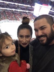 Nick attended Anaheim Ducks vs. Columbus Blue Jackets - NHL - Antis Roofing Community Corner on Nov 4th 2018 via VetTix