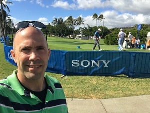 Marc attended Sony Open in Hawaii - PGA Tour at Waialae Country Club - *see Notes on Jan 7th 2019 via VetTix